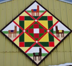 Barn Quilt Tours- Spring time - Baby Llamas | Barn Quilts of Carver